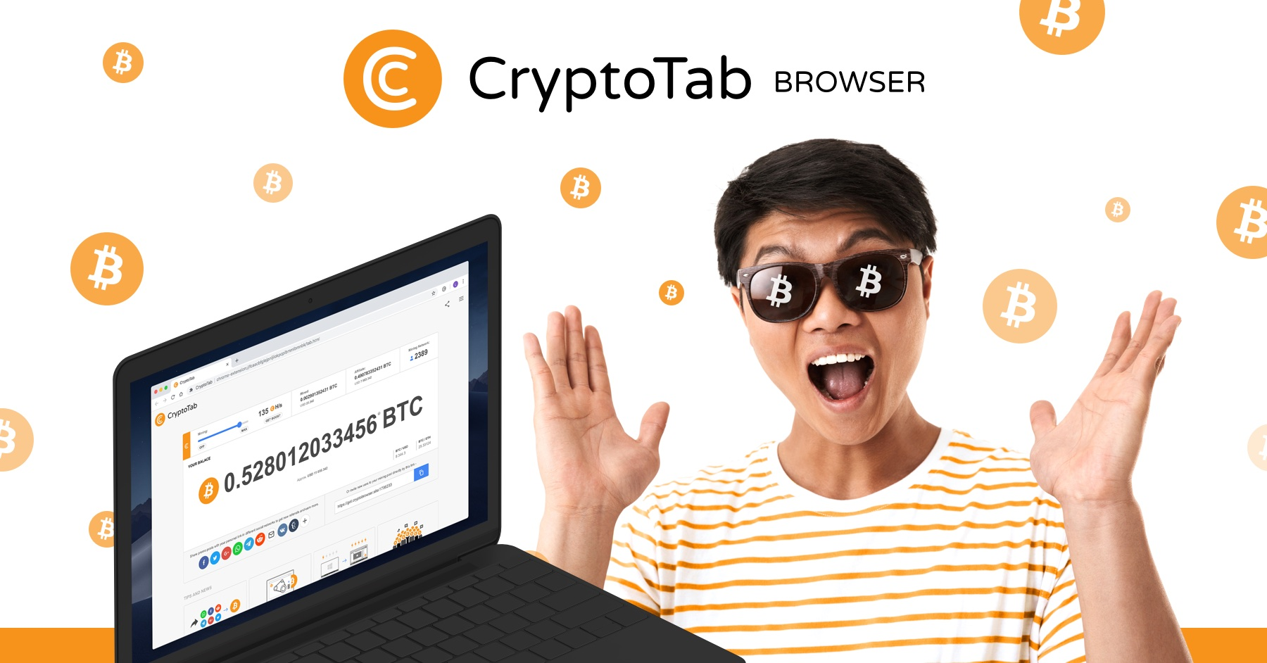 CryptoTab Browser - Easy way for Bitcoin Mining