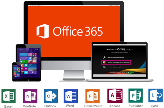 Office 365 start page for all Office 365 commercial users – World Technology