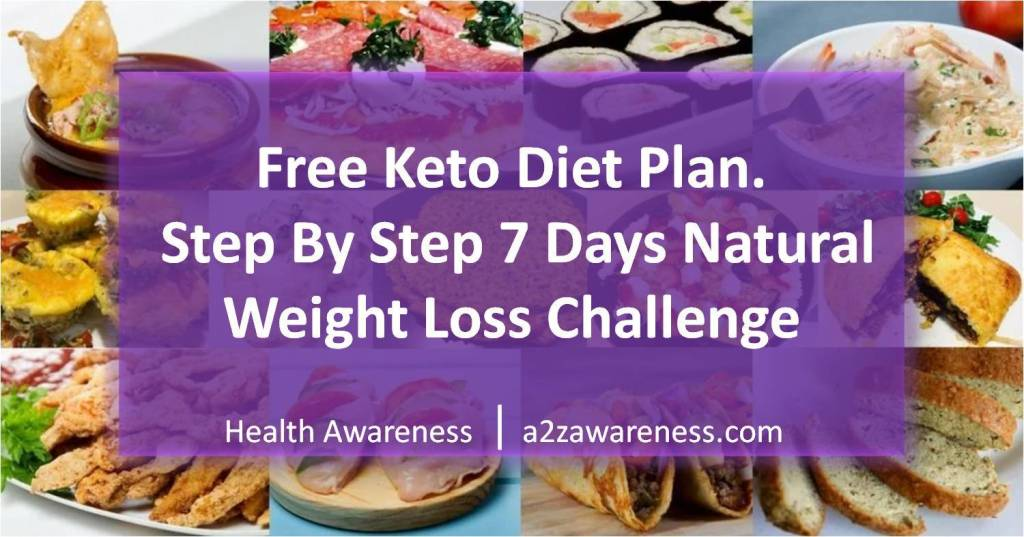 7 Day Keto Diet Plan | One week Weight loss challenge | Low Carb Diet