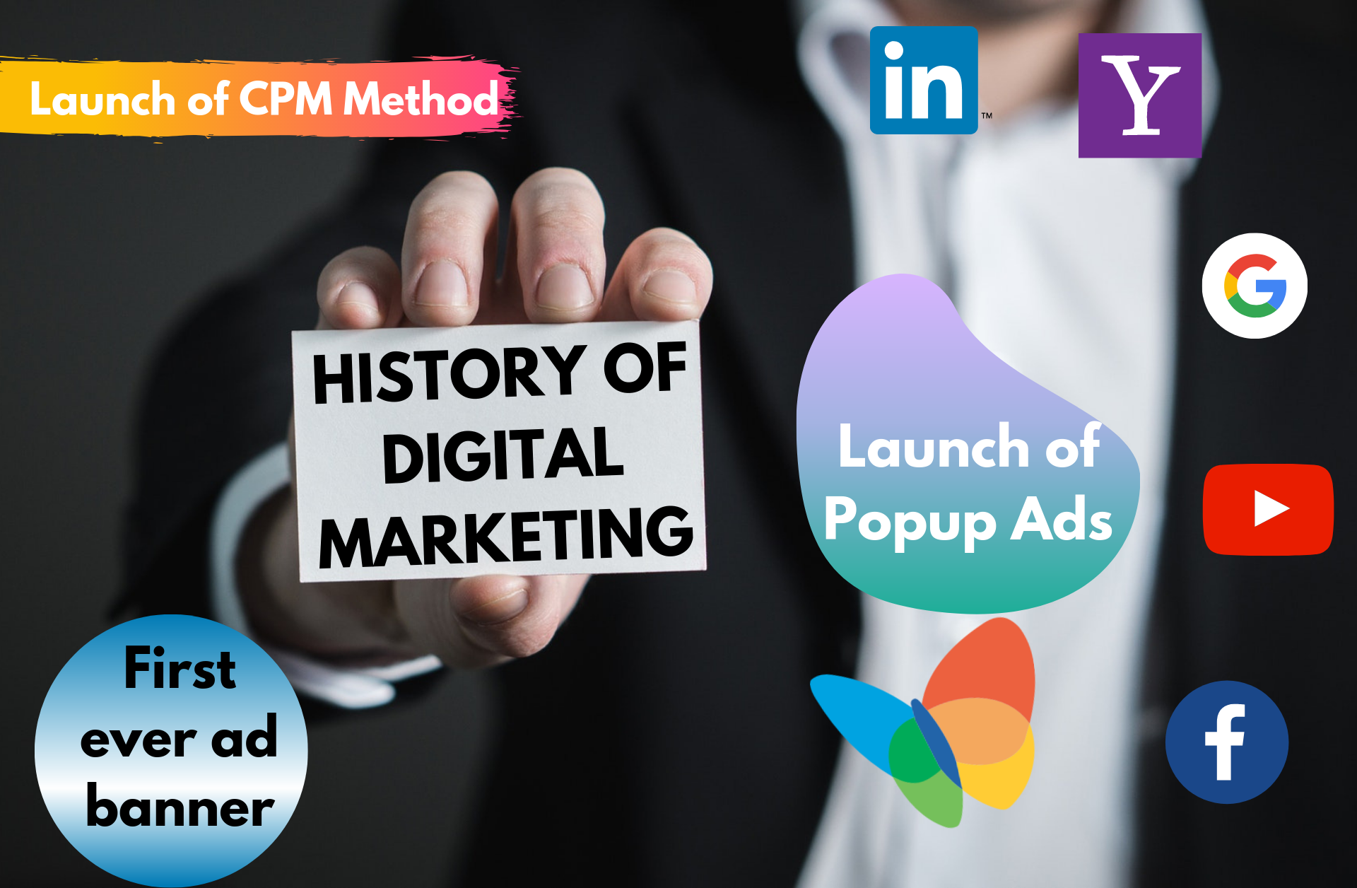 History of digital marketing - Digital Marketing - Digiaaj