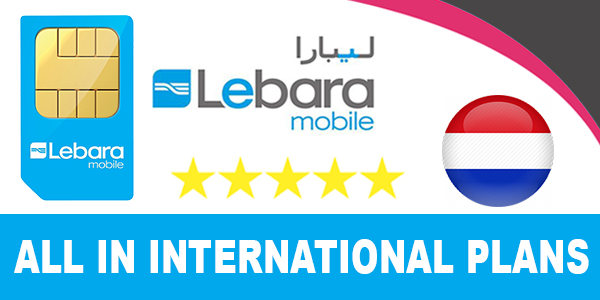 Lebara Mobile NL All in International Plans - €15 €20 €30 €35